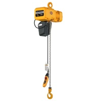 500kg 3m Single Speed Powered Hoist 7.3m/min