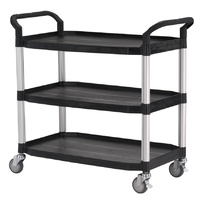 Triple Deck Service Trolley Cart - HS808LA