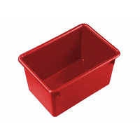 27L Plastic Crate Nesting  457 X 318 X 260mm - Red