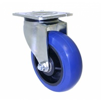 300kg Rated O Series Heavy Duty Castor - 100mm - Swivel Plate