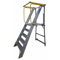 INDALEX 10 Step Order Picker Ladder - 180kg