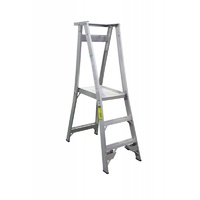 Indalex 3 Step Platform Ladder - Platform Height - 0.90 m