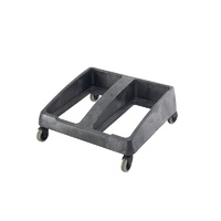 Svelte Plastic 2 Compartment Dolly to Suit RT1211, RT1213 - Black