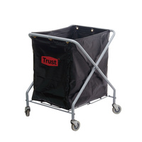 X Type Linen Cart 70.5cm x 63.5cm x 87.6cm - 170L Inc Bag