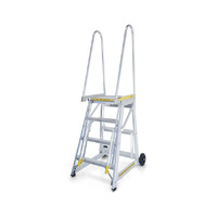 10 Steps Step-thru Access Mobile Ladder