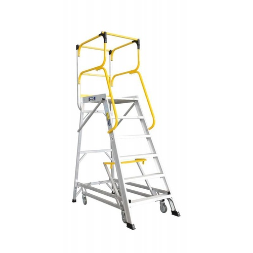 Bailey 6 Step Deluxe Order Picker Ladder 170Kg - 1.66m